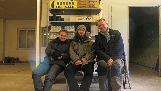 Linus och Zacke kockar från Tapasbaren och Niklas.